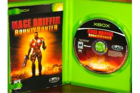 Mace Griffin: Bounty Hunter - Original XBOX FPS Game ...