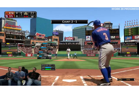 MLB 15 The Show Developer Livestream with Senior AI ...