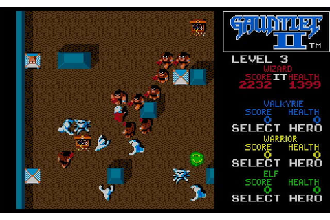 Download Gauntlet 2 action for DOS (1989) - Abandonware DOS