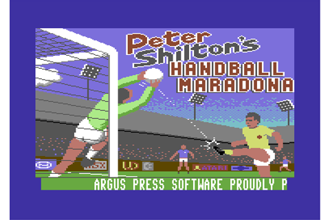 Download Peter Shilton's Handball Maradona! - My Abandonware