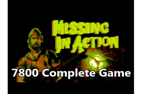 Missing in Action Atari 7800 Prototype Complete Game ...