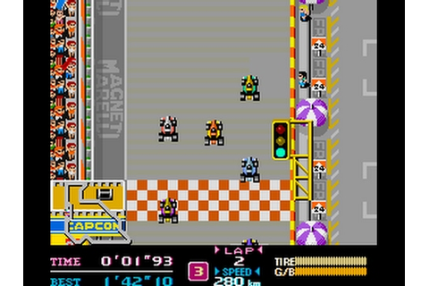 Retro Games - #03 F-1 Dream [1988] - YouTube