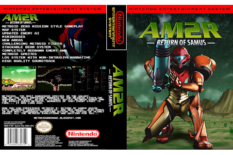 NES game cover - Project AM2R