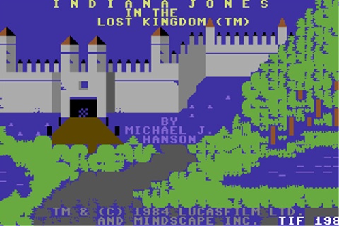 Download Indiana Jones in the Lost Kingdom (Commodore 64 ...