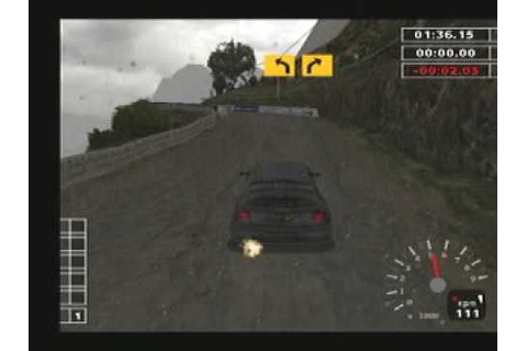 WRC 2 Extreme Playstation 2 PS gameplay - YouTube