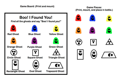 Three Ghost Friends: Boo! I Found You! Homemade Look-and ...