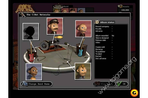 Rock Manager - Download Free Full Games | Simulation games