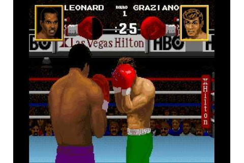 Boxing Legends Of The Ring (SNES) gameplay - YouTube