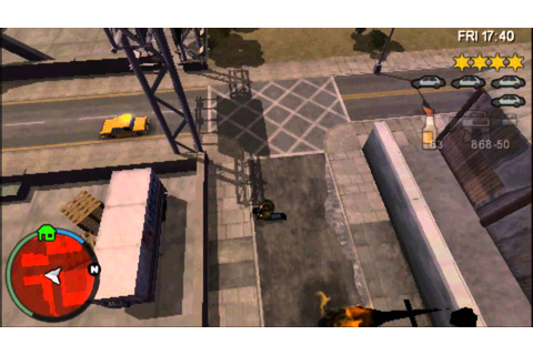 Grand Theft Auto Chinatown Wars (PSP) gameplay - YouTube