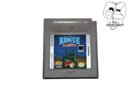 Nintendo Game Boy David Crane's The Rescue Of by ...