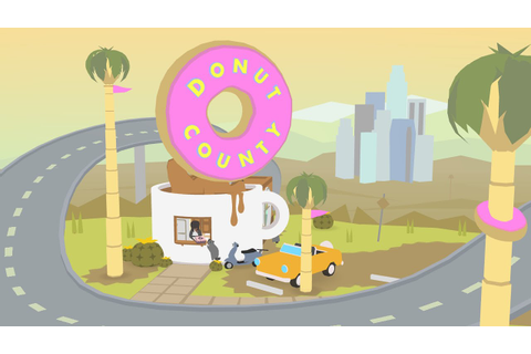 Donut County Reveal Trailer - YouTube