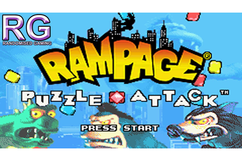 Rampage Puzzle Attack - Title Screen Music - Game Boy ...