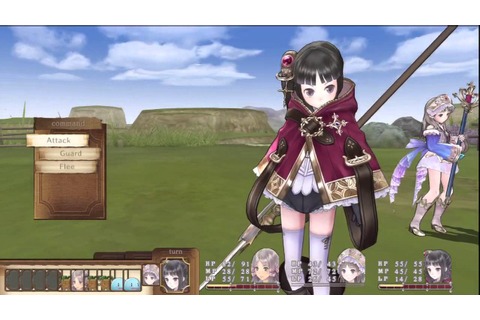 Atelier Totori: The Adventurer of Arland 10 minute preview ...
