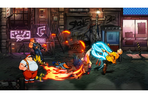Streets of Rage 4 Interview: Developers Discuss Art Style ...