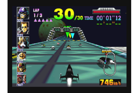 F-Zero X (1998) by Nintendo N64 game