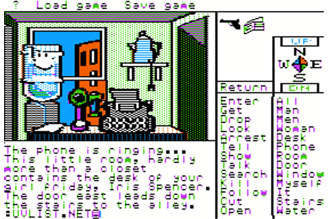 Borrowed Time (1985) by Interplay Apple II E game