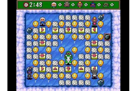 Super Bomberman 3 - Secret Stages - YouTube
