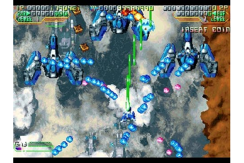 Mars Matrix: Hyper Solid Shooting (Arcade/Takumi/2000 ...