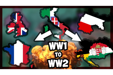 HOI4 | RUNNING A HOI GAME FROM WW1 to WW2! - WW2 P.2 ...