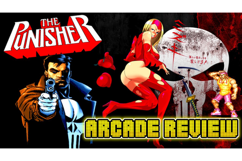 The Punisher Arcade Game Review by Insert Cointent - YouTube