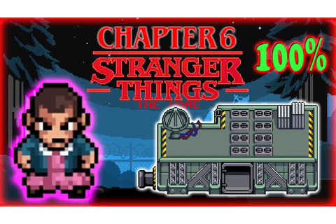 Stranger Things The Game: Chapter 6 FINALE 100% Complete ...
