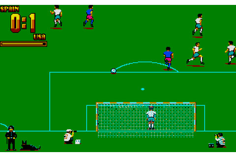 World Trophy Soccer (1990) by Novotrade Atari ST game