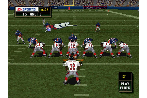 Madden NFL 2000 (1999) by Tiburon PS game