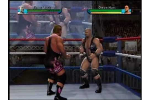 Owen Hart – The Video Game Legacy | Sven's Lazy Video Game ...