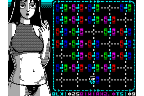 Biniax 2 (2009) by The Mojon Twins ZX Spectrum game