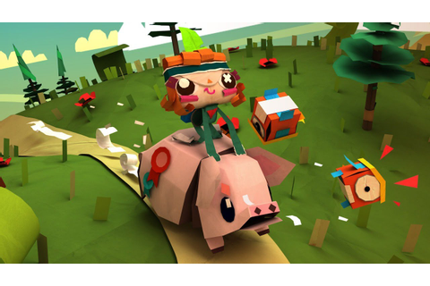 Tearaway Unfolded Review - YouTube