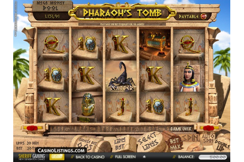 Free Pharaoh's Tomb slot machine | Casino Listings free games