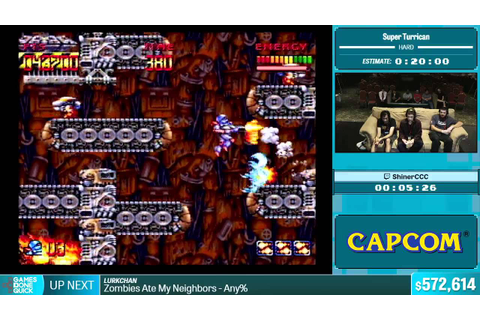 Super Turrican by ShinerCCC in 13:59 - Summer Games Done ...