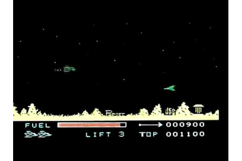 Parsec on the Texas Instruments TI99/4a. Gameplay ...