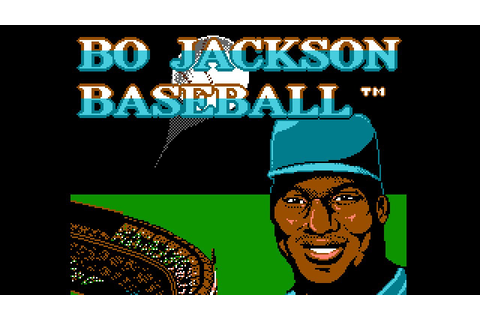 Bo Jackson Baseball - NES Gameplay - YouTube