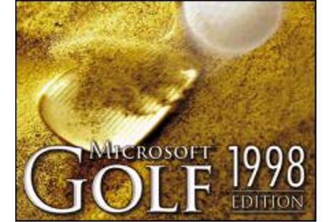 Microsoft Golf 1998 Edition Download (1998 Sports Game)