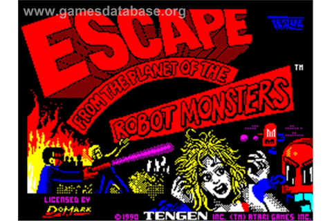 Escape from the Planet of the Robot Monsters - Sinclair ZX ...