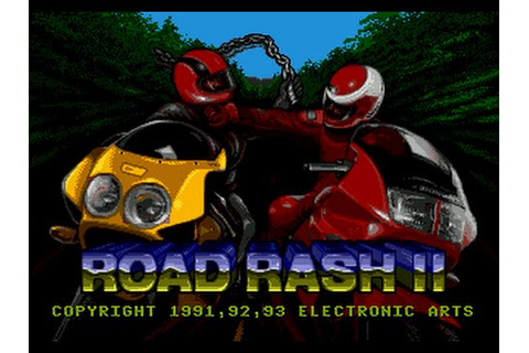 Mega Drive Longplay [102] Road Rash II - YouTube