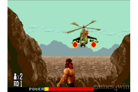 Rambo 3 Download on Games4Win