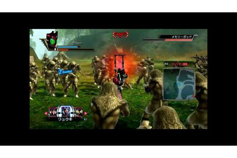Kamen Rider Battride War(PS3) - Decade Gameplay - YouTube