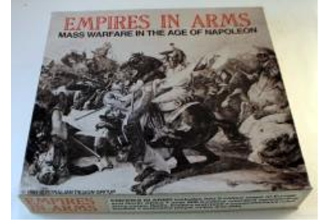 Empires in Arms - Boardgame - Noble Knight Games