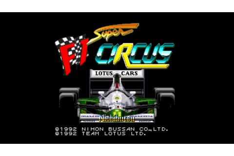 [SNES] Super F1 Circus - Game Over - YouTube