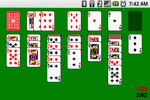 Solitaire Game Play - AndroidTapp