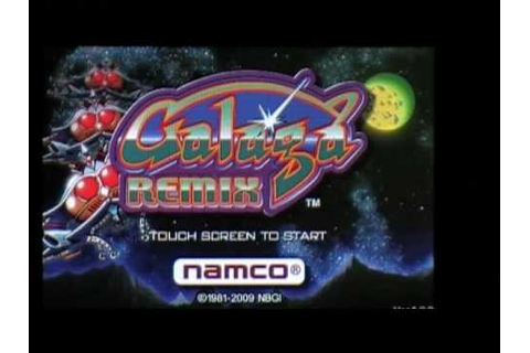 Iphone 3G Galaga Remix Online Touch Game Review - YouTube