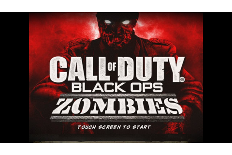 Call of Duty: Black Ops Zombies - iPad 2 - Walkthrough ...