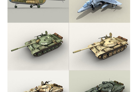 Joint Task Force game units by Csaba Gyulai | Dribbble ...