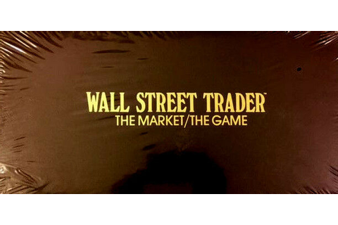 WALL STREET TRADER THE MARKET/THE GAME | eBay