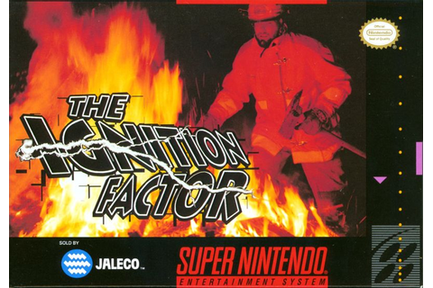 The Ignition Factor for SNES (1994) - MobyGames