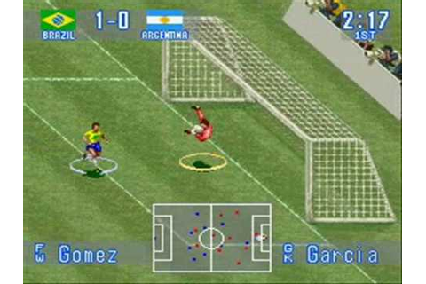 International Superstar Soccer (SNES) - Brazil Vs ...