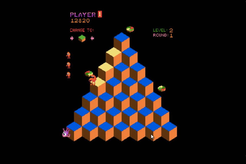A video game-playing AI beat Q*bert in a way no one's ever ...