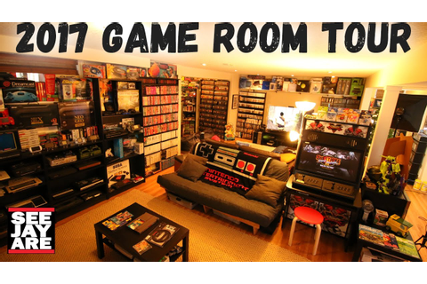 2017 Game Room Tour - 5,000 Games, 100+ Systems... Total ...